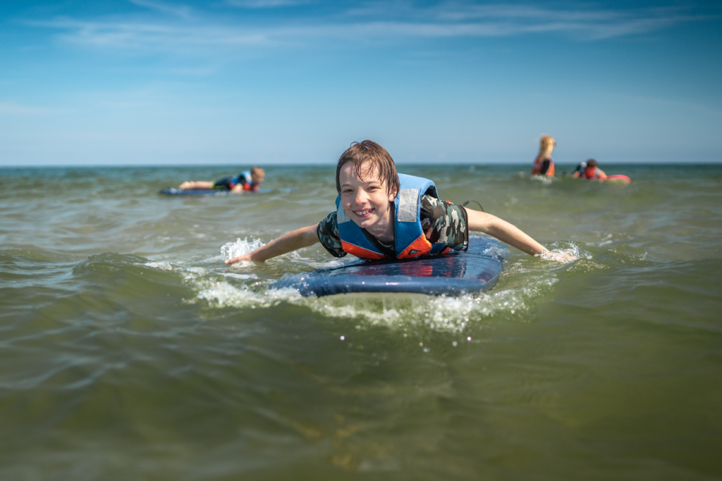 Windsurfing kursy dla dzieci